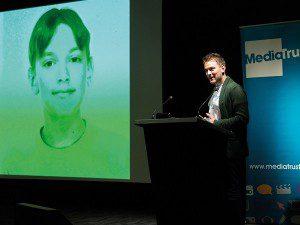 Jonny speaking publicly on mental health issues