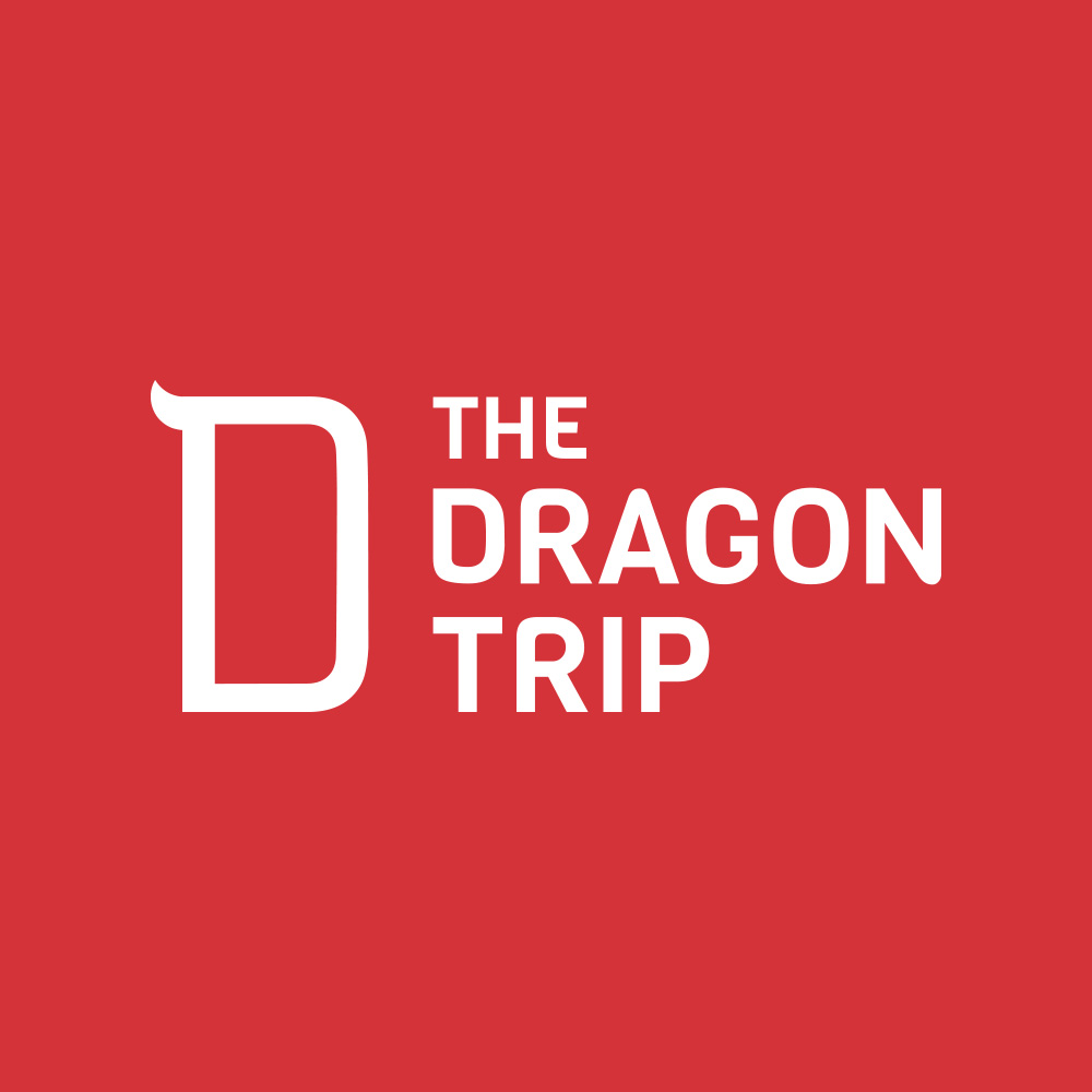 The Dragon Trip logo and brand identity