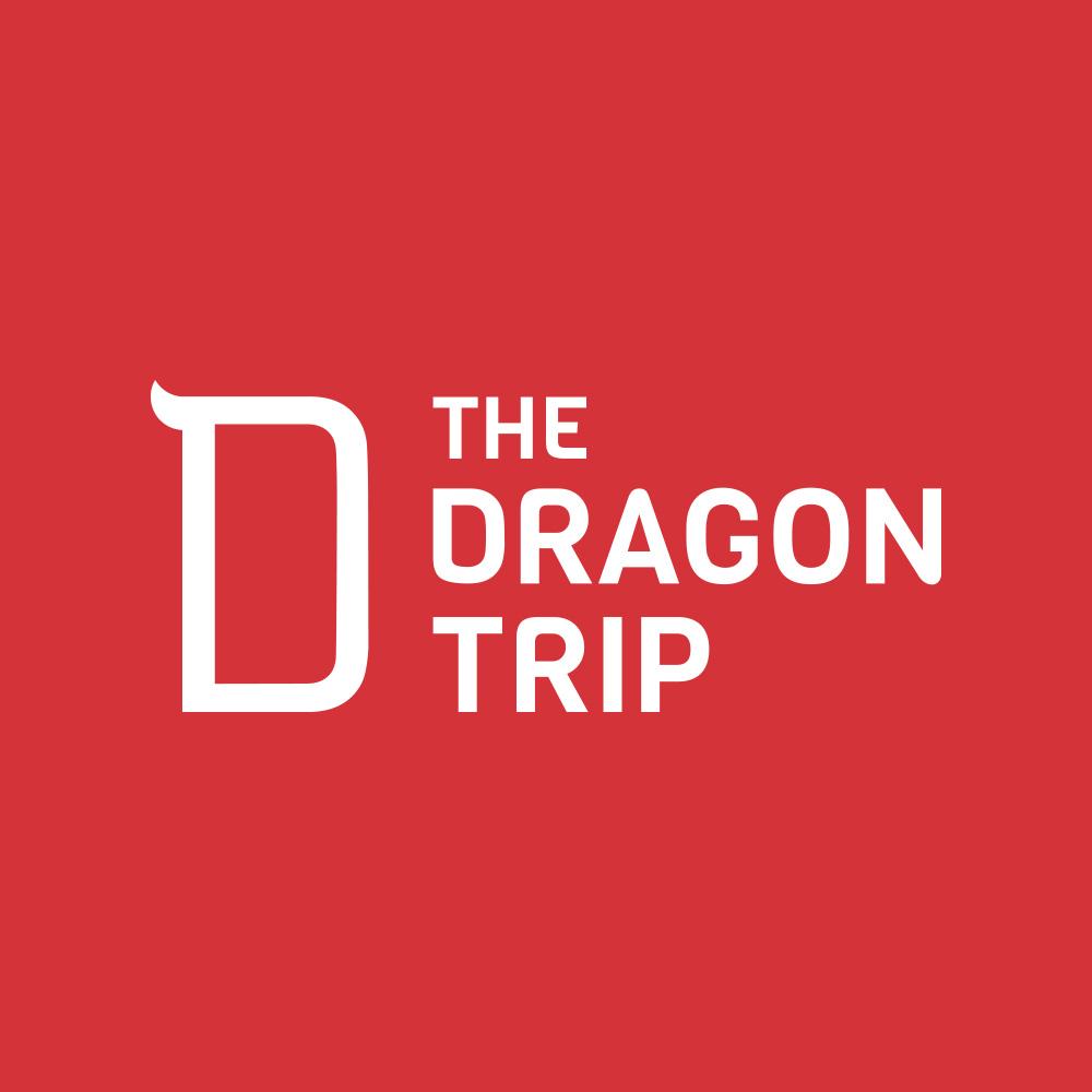 The Dragon Trip logo and brand identity