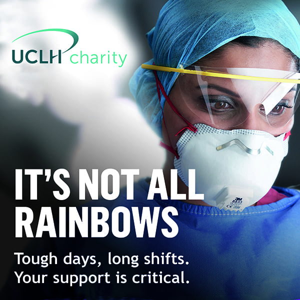 UCLH Charity covid appeal - Creative Clinic